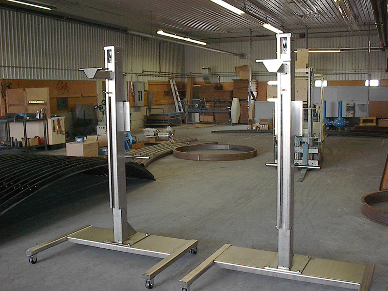 Gratec limited for Fabrication stand